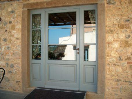 Vetrata ingresso laccata porte e portoncini per esterno - Porte usate per esterno ...
